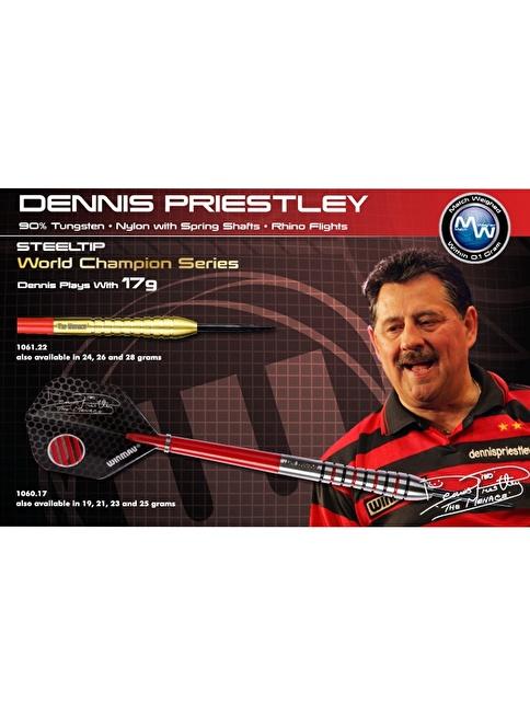 Winmau Dennis Priestley %90 Tungsten Çelik Uçlu Dart-21 Gram  Renkli